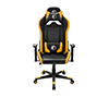Foto de Silla Gaming Qi CS230 Negra/Amarillo (QiCS230BY)