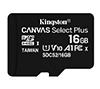 Foto de KINGSTON Micro SD HC Canvas 16Gb (SDCS2/16GBSP)