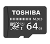Foto de TOSHIBA MicroSD 64Gb C10 Adaptador (THN-M203K0640EA)