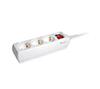 Foto de Regleta EQUIP 3Tomas cable 1.5m   Boton (EQ245551)