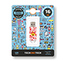 Foto de Pendrive TECHONETECH Emojis Heart Eyes 16GB(TEC4502-16)