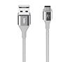 Foto de Cable BELKIN MIXIT DuraTek USB-C a USB-A(F2CU059BT04-SL
