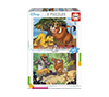 Foto de Puzzle EDUCA BORRAS Disney Animals 2x20 3-5años (18103)
