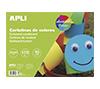 Foto de Block cartulinas APLI 10Hojas 32x24cm Colores (14483)