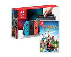 - Consola Nintendo Switch A/R Sports Party