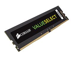 CMV4GX4M1A2400C16 - Módulo de memoria Corsair ValueSelect 4GB, DDR4, 2400MHz módulo de