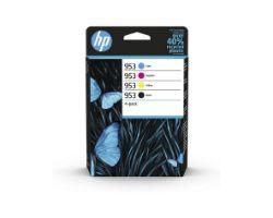 6ZC69AE - Tinta HP Cian/Magenta/Amarillo/Negro (6ZC69AE) N953