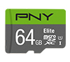 Foto de Micro SDXC PNY Elite 64Gb C10 (P-SDUX64U185GW-GE)