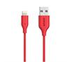 Foto de Cables ANKER Usb-Lightning 1.8m Rojo+Estuche (A8122R)