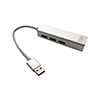 Foto de HUB 3GO 3Usb3.0 + Ethernet 1P Aluminio (HUB37PETH)