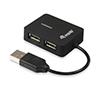 Foto de Mini HUB EQUIP Life Travel 4puertos USB2.0  (EQ128952)