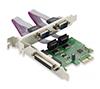 Foto de Tarjeta CONCEPTRONIC PCIe 2Paralelo / 2Serie(SPC01G)