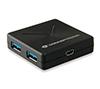 Foto de HUB CONCEPTRONIC 4puertos USB3.0 Negro (HUBBIES02B)