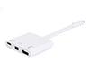 Foto de Adaptador EQUIP USB-C a miniDp/ USB3.0/ USB-C(EQ133463)