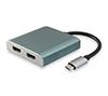 Foto de Adaptador EQUIP USB-C a 2HDMI 15cm (EQ133464)