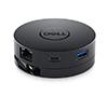 Foto de Adaptador portatil DELL Usb3-C 6 en 1 Negro (DA300)