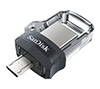 Foto de Pendrive SANDISK Dual micro/USB3.0 32Gb(SDDD3-032G-G46)
