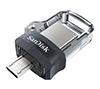 Foto de Pendrive SANDISK Dual micro/USB3.0 64Gb(SDDD3-064G-G46)