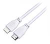 Foto de Cable HDMI RASPBERRY Pi CPRP020-W 2m Blanco (1111031)