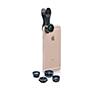 Foto de Kit 5 lentes SWISS GO para smartphone+funda(SWI302110)