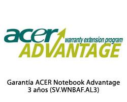 SV.WNBAF.AL3 - Garantia ACER Notebook Daños Acc. 3 años (SV.WNBAF.AL3)