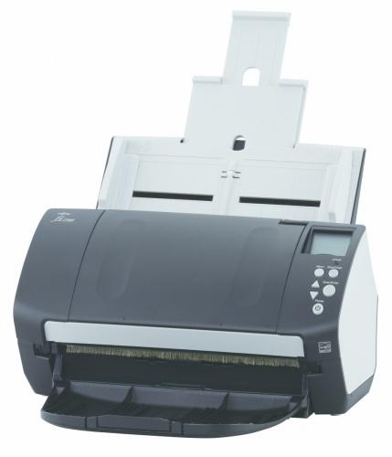PA03670-B051 - Escáner Fujitsu fi-7160 600 x 600 DPI  con alimentador automático de documento (ADF) Negro, Blanco A4