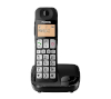 Foto de Panasonic Teléfono Inalámbrico Negro(KX-TGE110JTB)