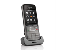 S30852-H2752-R122 - Teléfono inalámbrico Gigaset SL750H PRO DECT telephone handset Negro, Grafito (S30852-H2752-R122)