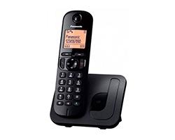 KX-TGC210SPB - Teléfono Panasonic KX-TGC210  DECT Negro Identificador de llamada