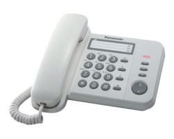 KX-TS520EX1W - Teléfono Panasonic KX-TS520EX1W teléfono Blanco Identificador de llamada