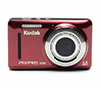 "Foto de Camara digital Kodak FZ53 16Mp 5X optico LCD 2,7"" Rojo"