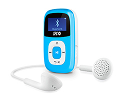 8668A - Reproductor MP3/MP4 SPC Firefly  de MP3 8GB Azul