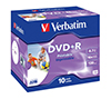 Foto de DVD+R Verbatim 4.7Gb 16x Printable Pack 10 (43508)