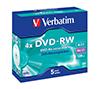 Foto de DVD-RW Verbatim 4x 4.7Gb Pack 5 (43285)