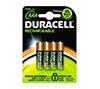 Foto de Pilas recargables Duracell AAA 750mAH Pack-4 (HR3-B)