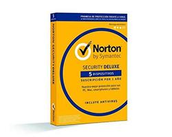 21355405 - Seguridad y antiviru Symantec Norton Security Deluxe 3.0 Licencia completa 5 licencia(s) 1 año(s)