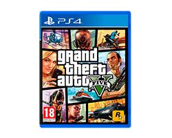 - Juego PS4 Grand theft auto V