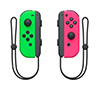 Foto de Mandos inalámbricos NINTENDO Switch Joycon Verde/Rosa